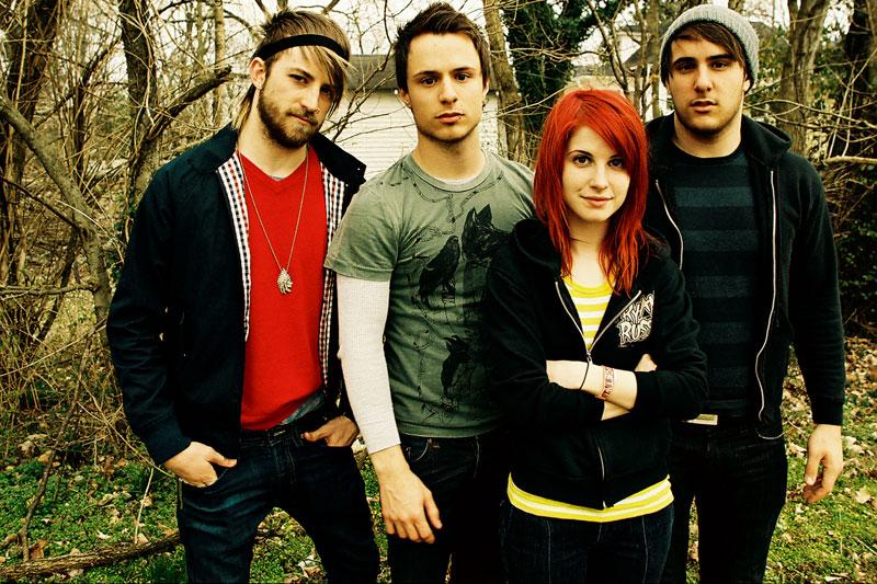 фото группы Paramore